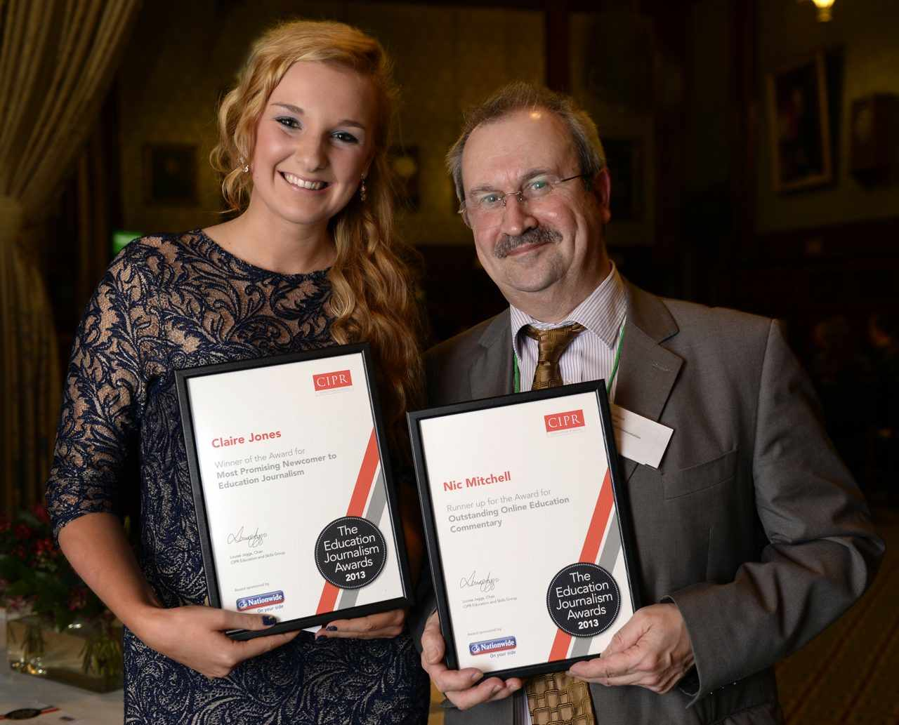 We're runners-up for the Outstanding Online Education Commentary Award