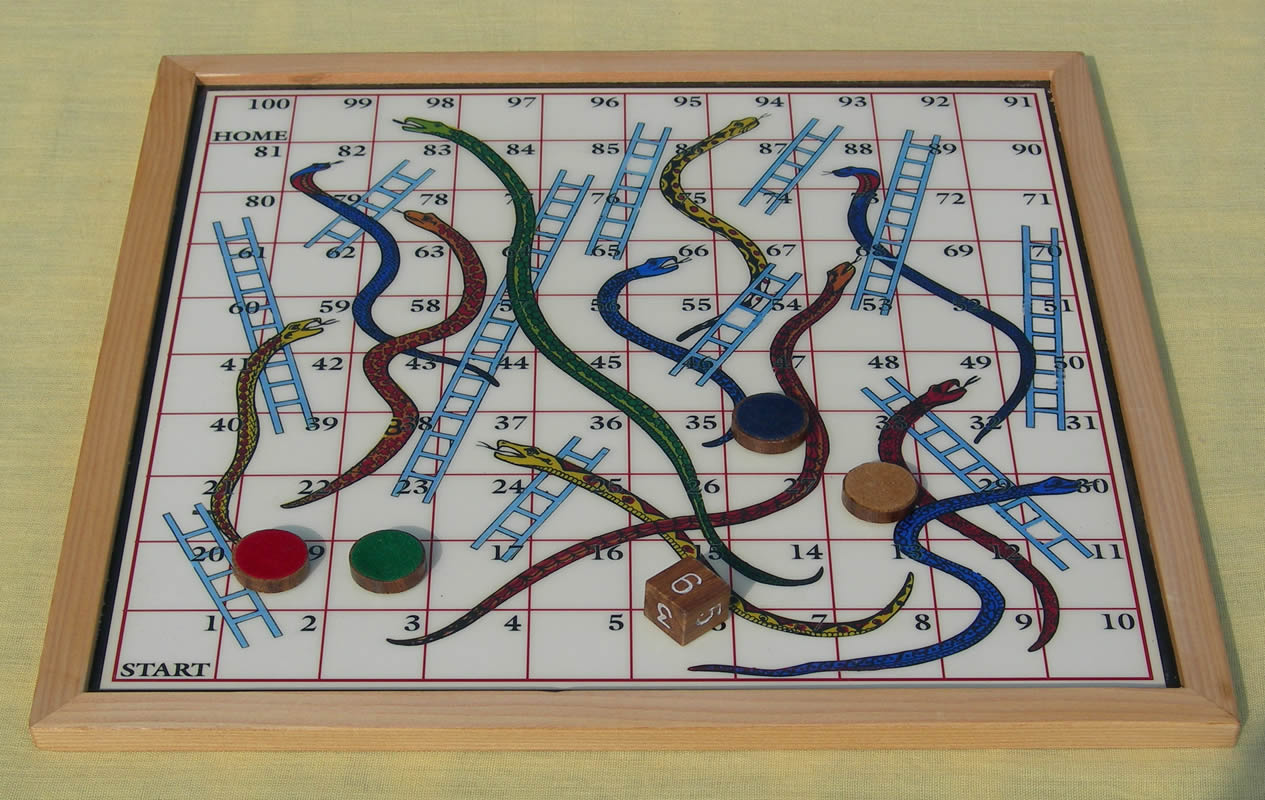 How cancer treatment is a bit like Snakes and Ladders!